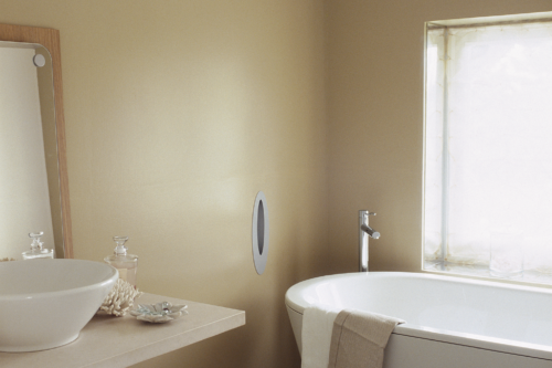 beige badrum